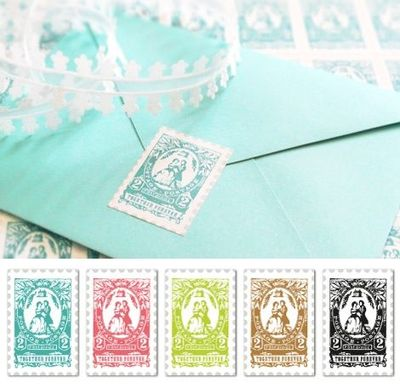 graphic about Printable Postage referred to as absolutely free printable postage stamp picture with wedding ceremony concept (e