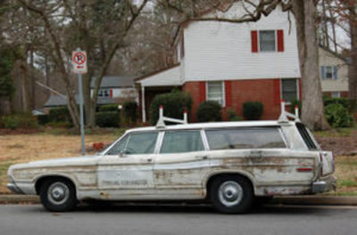 the beat up old car symbolizes the instability of the family and how dependent they are