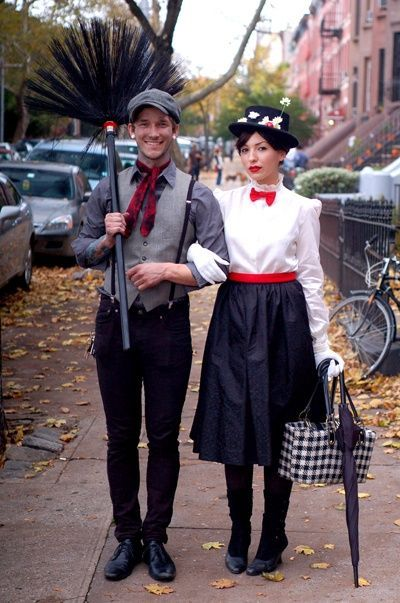 Mary Poppins Couples Costume Smart Couples Costume Mary