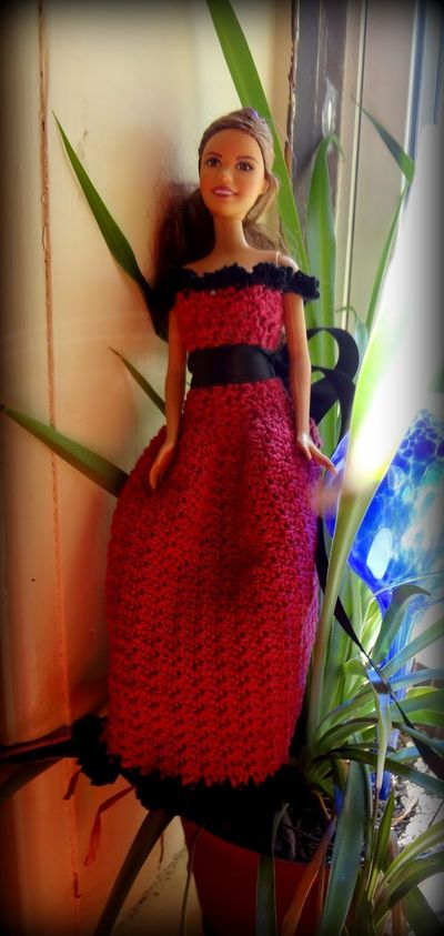 Cherise Barbie Dress Free Crochet Pattern / crochet ideas ...