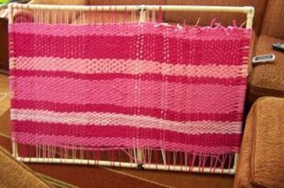 Rag Rug Loom Gt Pvc Pipe To Make