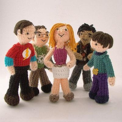 The Big Bang Theory Tribute by Lalala Toys , via Behance