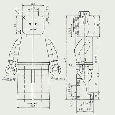 Lego Minifigure Technical Drawing Graphic Arts Juxtapost