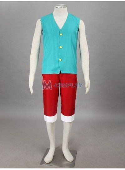 One Piece Monkey.D.Luffy 3rd Cosplay Costume