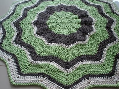 Crochet Round Ripple Afghan Free Pattern : crochet round ripple afghan, free pattern / crochet ideas ...
