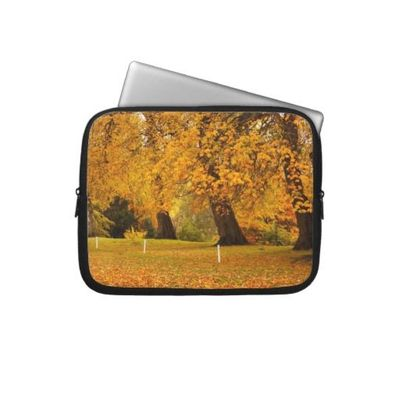Autumn in the park computer sleeve