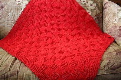 Ravelry: NMCRS Basketweave Baby Blanket ver. 2 pattern by Cathy Waldie