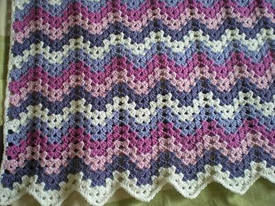 Ravelry Project Gallery For Granny Ripple Afghan Pattern By