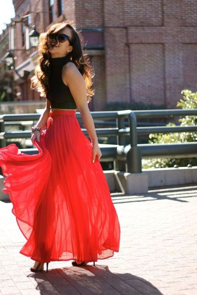 37 Maxi Dresses and Maxi Skirt 2013 Hot Fashion Trend