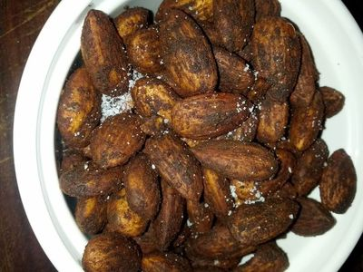 Crockpot Cinnamon Chocolate Almonds | Me and Jorge: Belly Fat Cure Diet | Belly Fat Cure by Jorge Cruise