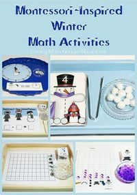 PreKandKSharing: Montessori-Inspired Winter Math Activities