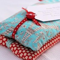 Homemade Heating Packs with Lavendar -- This simple sewing project makes a useful get well gift, and you can customize it with your choice of aromatherapy for a little extra indulgence. My preference is lavender, but you can also add mint, eucalyptus, or ...