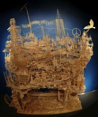 100,000 toothpicks and 35 years later...