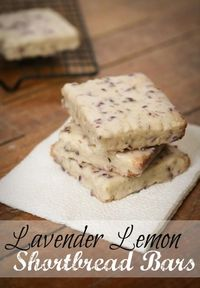Life, etc.: Em's Lemon Lavender Shortbread Bars