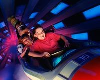 Space Mountain, Disney World, FL