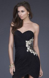 9efdbdeabe Posts similar to  Sparkly Tight Short Prom Dresses One-shoulder ...