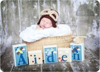 Personalized Name Nursery Wood Block Letters Coco & Company Zoom Along