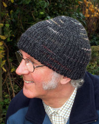 Pattern For Knitted Headband With Flower : KNITTING PATTERNS MENS BEANIE 1000 Free Patterns