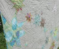 Punch Drunk Quilt by Selma Lee, quilt like this on my star quilt?