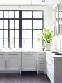 white, marble, and black