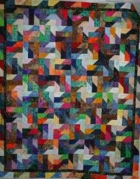 St. Anne Quilting and Sewing: Batik Quilt by PP.