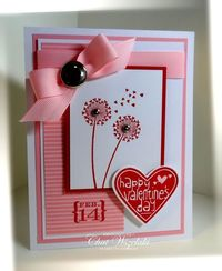 Stampin' Up! Valentine by Chat Wszelaki at Me, My Stamps and I: Happy Valentine's Day