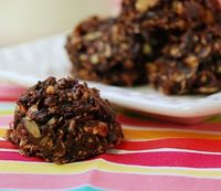 Chocolate Almond Butter Clusters