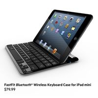 The Belkin FastFit Keyboard Case for iPad mini is the lightest and thinnest enhancement to your iPad mini experience! $79.99