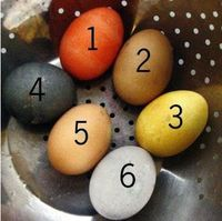 Playing with Food--Easter Eggs Part II