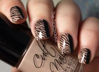 cute nails, stamping