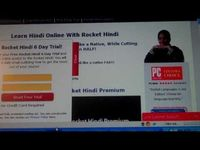 http://tinyurl.com/hindilessonstrial - Hindi Lessons  Free Rocket Hindi 6 Day Trial!  Sign up for your Free Rocket Hindi 6 Day Trial and get instant online access to the Rocket Hindi! You will also receive a daily email outlining how to get the most o...