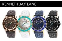 American designer watches for modern women, genuine leather straps with stainless steel cases