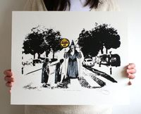 Lord Of The Rings 'Thou Shall Not Pass' Hand Pulled Limited Edition Screen Print via Etsy.