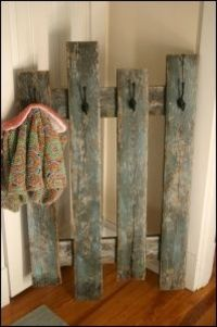 coat rack DIY. YES!