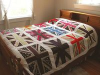 Love this quilt! Union Jack, UK