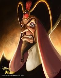 not Disney Princess Art, but still way cool. Jafar