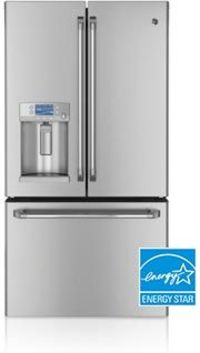 GE Cafe Series French Door Refrigerator With Hot Water