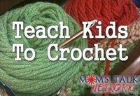 Teach Kids to Crochet in five videos. Wonder if there is a knitting one..