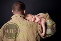 fire fighter newborn photography - Google Search