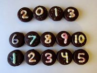 New Year's Eve Chocolate Covered Oreo's- Super simple to do and it looks and tastes amazing!
