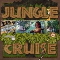 Jungle Cruise - MouseScrappers - Disney Scrapbooking Gallery