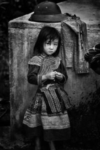 Hmong girl, sapa valley vietnam