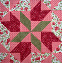 Four Winds Quilt Block