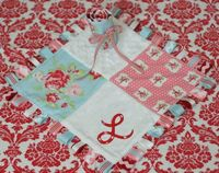 Want to make a Ribbon Baby Blanket?