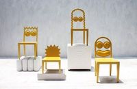 Design - Chairs Designed to Look Like The Simpsons