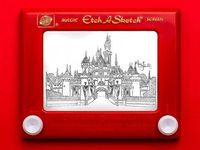 �€˜Princess Etch A Sketch' Art by Jane Labowitch