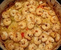 one pot wonder! shrimp orzo