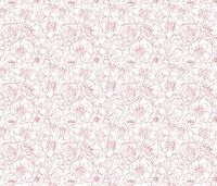 scribble flowers fabric by gutentag on Spoonflower - custom fabric