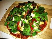 Heavenly Vegan Pizza = 100% Yum!