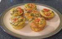 KFG Recipe of the Week: Gluten-Free Paleo Egg Muffins. These savory egg muffins are made with no flour or other binder. They're great for a gluten-free or paleo diet, but everyone will enjoy them!